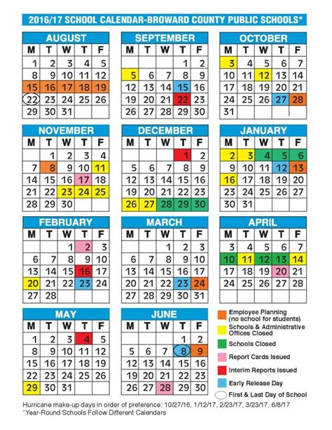 daily calendars samples examples
