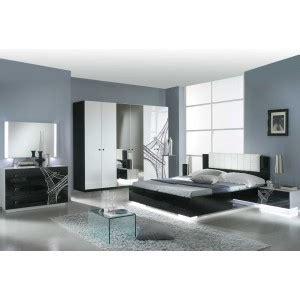 chambre a coucher noir et blanc tour eiffel laque blanc et noir ensemble chambre a coucher