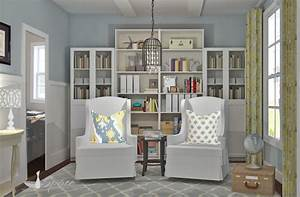Best Small Home Library Design Ideas Gallery - Interior