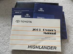 Highlander Owners Manual Pdf