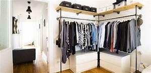 Kleiderschrank Industrial Design : pin von huey min auf diy wardrobe id ea pinterest kleiderschrank schrank und offener ~ Markanthonyermac.com Haus und Dekorationen