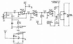 Remote Field Strength Meter Circuit Diagram
