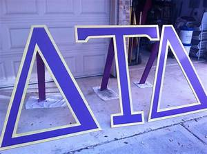 22 best images about delta tau delta on pinterest spring With 6 foot greek letters