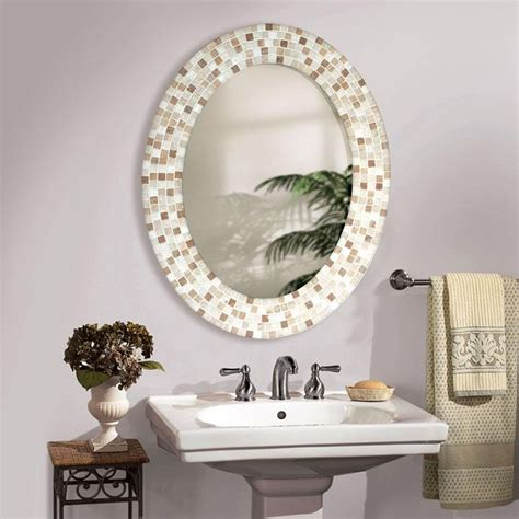 Decorative Mirrors For Bathrooms by Best 25 Oval Bathroom Mirror Ideas On