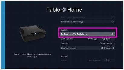 Tablo Extend Roku Guide Tv Grid Channel
