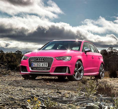 Photo Audi Rs 3 Pink Color Automobile
