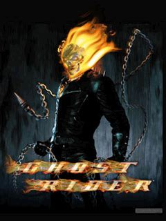 Ghost Rider Animated Wallpaper - animated wallpaper screensaver 240x320 for cellphone up