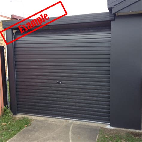 A Series Taurean Garage Roller Door  Monument Colour