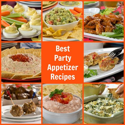 10 best party appetizer recipes mrfood com