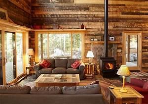 bois decoration interieur deco maison moderne With decoration maison en bois