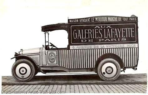 galeries lafayette siege social camionnette latil type b