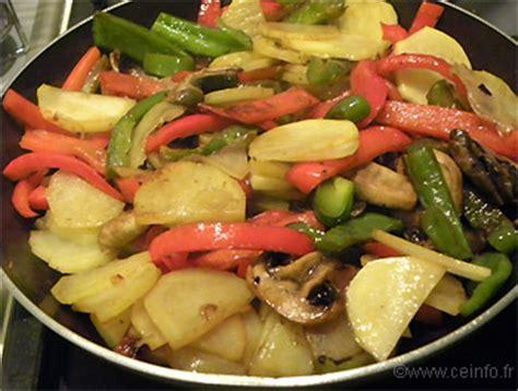 po 234 l 233 e poivrons tomates chignons et pommes de terre