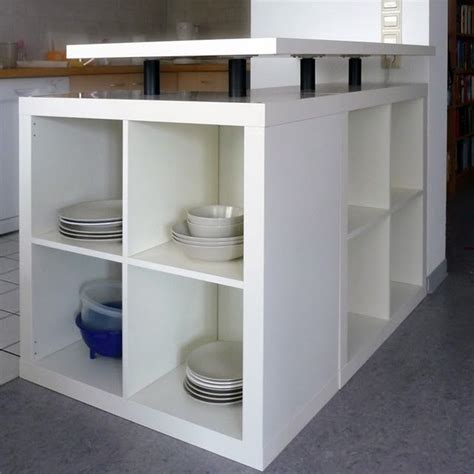 bookcase kitchen island diy l shaped kitchen island from ikea bookcases kitchen 1759