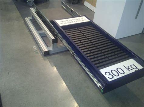 bottom mount drawer slides 4010 7619 extension slide tr7619 300kg 660lbs