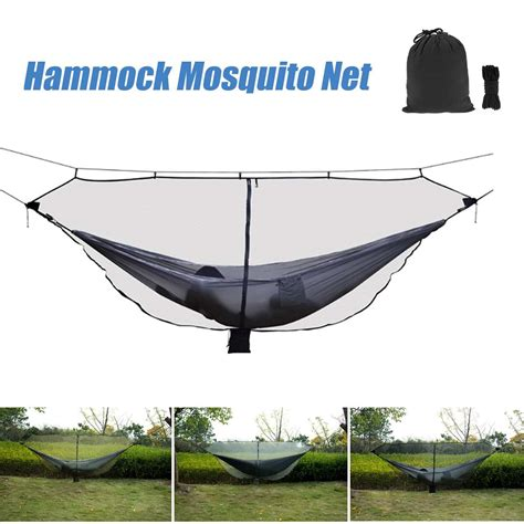 Travel Hammock With Mosquito Net by Portable 1 2 Person Hammock With Mosquito Nets Outdoor