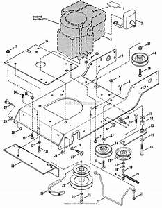 Snapper Lt14h411kv  80086  41 U0026quot  14 Hp Hydro Drive 1991 Series 1 Parts Diagram For Engine Base