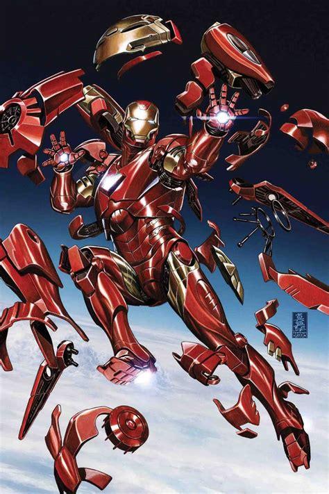 Tony Stark Iron Man 2 2018 Variant Cover By Mark