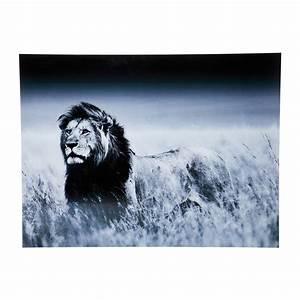 Tableau En Verre : tableau en verre lion king standing 120x160cm kare design ~ Melissatoandfro.com Idées de Décoration