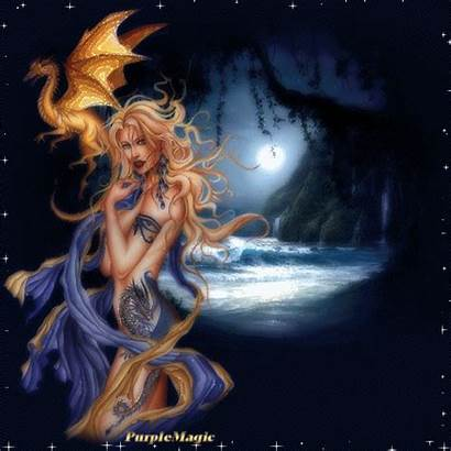 Fantasy Dragon Femme Spirit Drifting Female Gifs