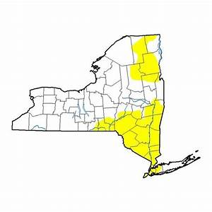 A third of New York state is in pre-drought stage already