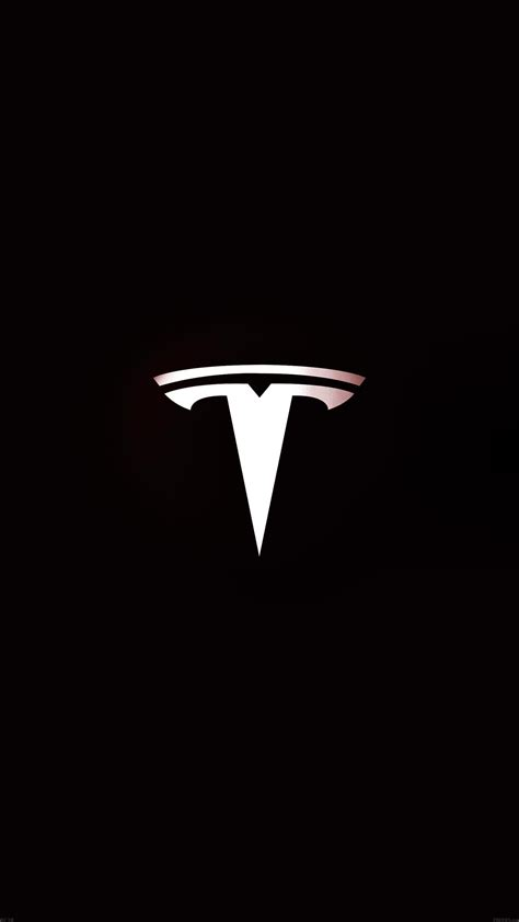 Tesla Motors Logo Dark iPhone 6 Plus HD Wallpaper HD