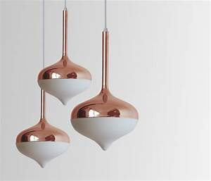 Lampe Rose Gold : spun small pendant lamp silver suspended lights from evie group architonic ~ Teatrodelosmanantiales.com Idées de Décoration
