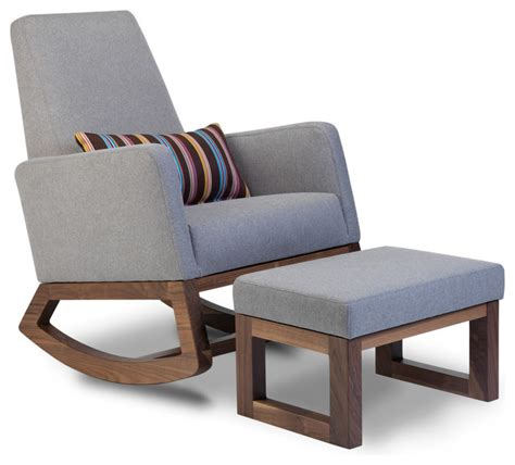 joya rocker modern rocking chairs toronto by monte