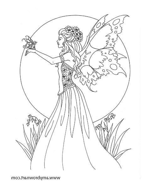 Free Fairy Coloring Pages Fairy coloring pages