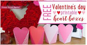 Free Tea Party Invitations To Print Free 39 S Day Printable Heart Boxes Press Print