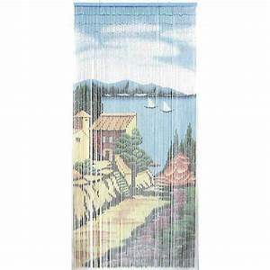 Rideaux De Porte Exterieur : rideau de porte en bambou nri1770 aubry gaspard ~ Dode.kayakingforconservation.com Idées de Décoration