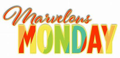 Monday Marvelous Week Happy Expression Clipart Morning