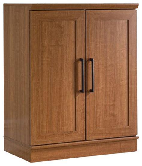 sauder homeplus base cabinet in sienna oak finish
