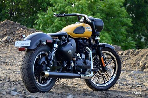 Modification Royal Enfield Bullet 350 by Modified Royal Enfield Classic 350 India Bullet Mod