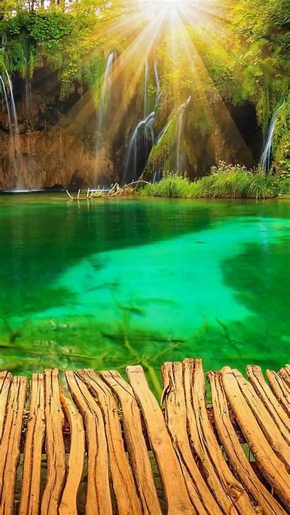 Iphone Nature Wallpapers Plus Croatia Waterfalls Peaceful
