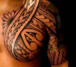 Polynesian Chest Tattoo 57 | Man's Tattoo | Pinterest ...