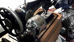 Very Rare Refurbished Antique Singer Sewing Machine Motor 2b 336006