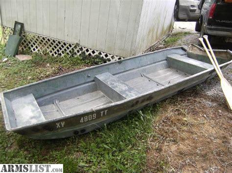 12 Foot Aluminum Jon Boats For Sale by Armslist For Sale 12 Foot Flat Bottom Jon Boat