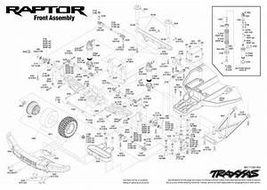 Traxxas 580941t4 2017 Ford Raptor Rtr Slash 1  10 2wd Truck