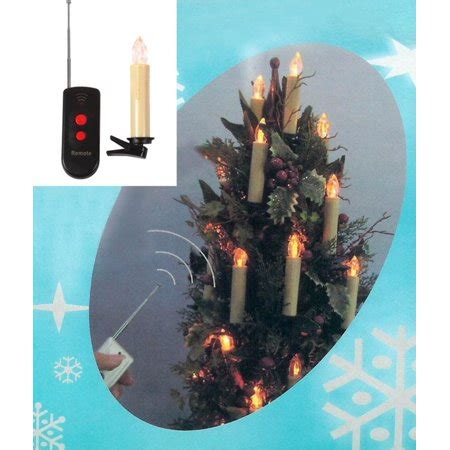 battery operated christmas lights with remote set of 10 led battery operated remote magnetic candle lights walmart