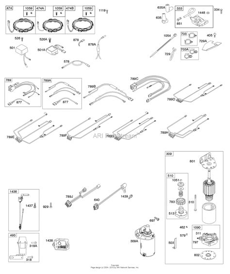 briggs and stratton 44p777 0594 b1 parts diagram for