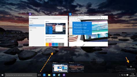 aux bureaux windows 10 accès aux applications et bureaux virtuels