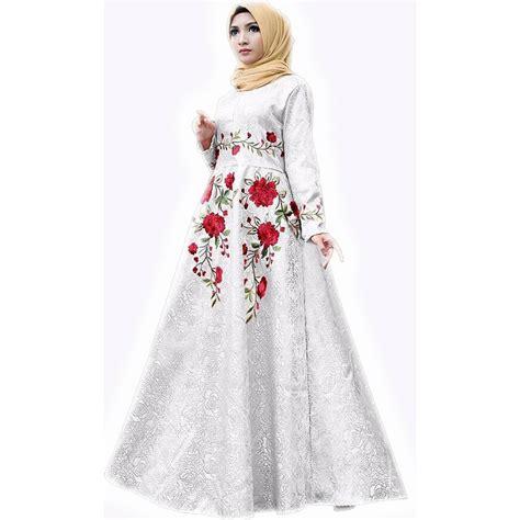 Gamis Dress Brista bordir murah dress muslim gamis maxi dress pesta