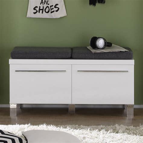 bureau d angle laqu blanc meuble chaussures avec coussins 2 portes pour entre