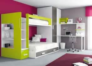 kinderzimmer hochbett 38 design ideen für moderne unisex kinderbetten und jugendbetten