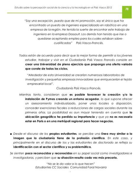 dassault si鑒e social estudio sobre la percepción social de la ciencia y la tecnología 2012