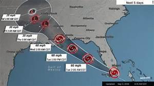 Tallahassee , FL - Tropical Storm Gordon Threatens South ...