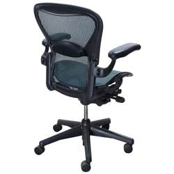 herman miller aeron used size c task chair tourmaline national office interiors and liquidators