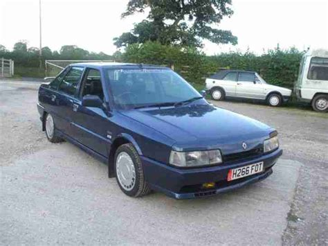renault turbo for sale renault 1991 21 turbo quadra blue 4x4 car for sale