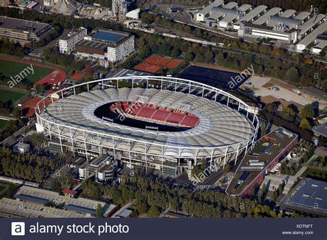 football stadium mercedes benz arena stock