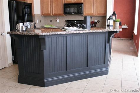 kitchen islands that look like furniture adding beadboard to the bar southern hospitality